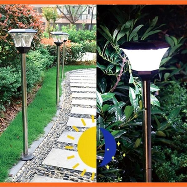 LED 태양광 스텐 정원등 & 데크등