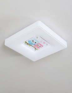 LED 큐엘 부엉이 방등 55W