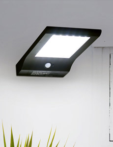 LED 태양광 라니 센서벽등 5W(주광색)