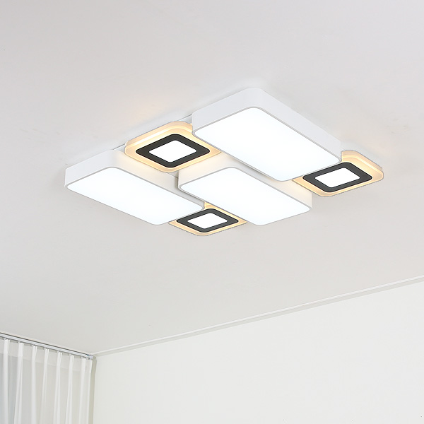 LED 다이브 6등 거실등 160W