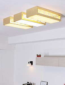 LED 에린 방/거실등 50W(골드)