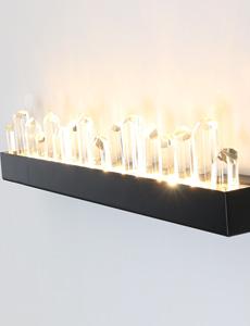 LED 아이시클 크리스탈 벽등 25W