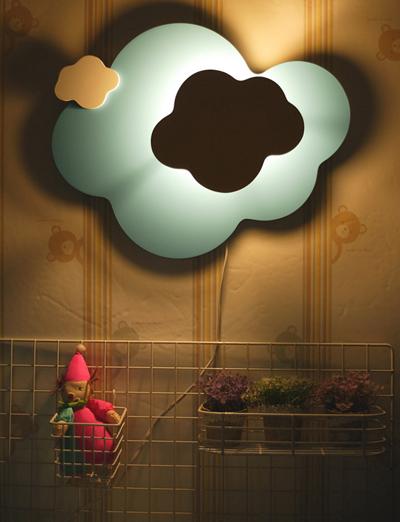 구름 벽등