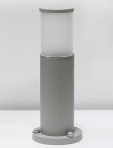 [35cm] 심플원형 1등 잔디등(小/그레이)