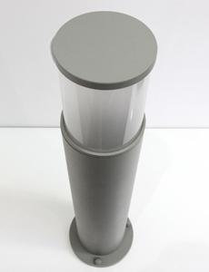 [60cm] 심플원형 1등 잔디등(中/그레이)