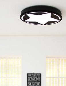 LED 킹스타 방등 50W(블랙)