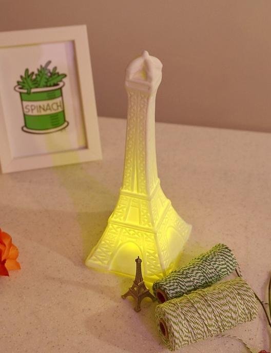LED 세라믹 에펠탑 무드스탠드 2W