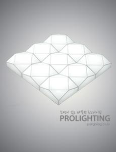 LED 헤이븐 밀크솔 거실등 180W