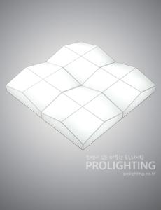 LED 플러스 밀크솔 거실등[2size]