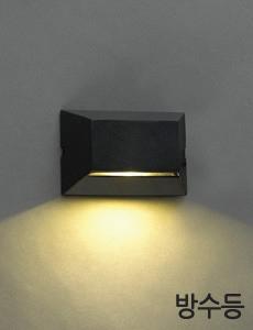 LED 밀레 1등 방수벽등(블랙)
