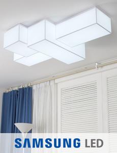 LED 딕스 밀크솔 거실등
