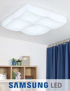 LED 플로우 밀크솔 거실등