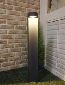 [80cm] LED 플라리스 잔디등 COB 5W(그레이)