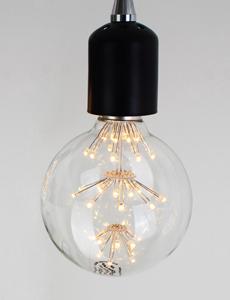 LED 에디슨 눈꽃 볼램프 2W