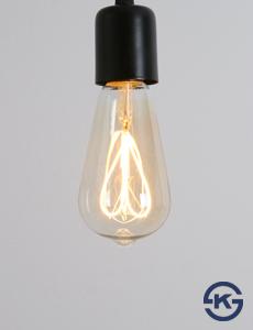 LED 에디슨 하트 막대램프 4W