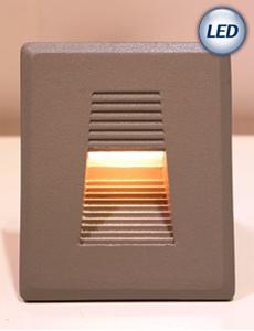 LED 스퀘어 계단매입등 3W(그레이)