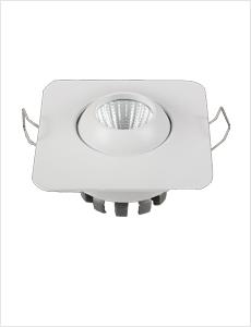LED 이중 사각 매입등 3W