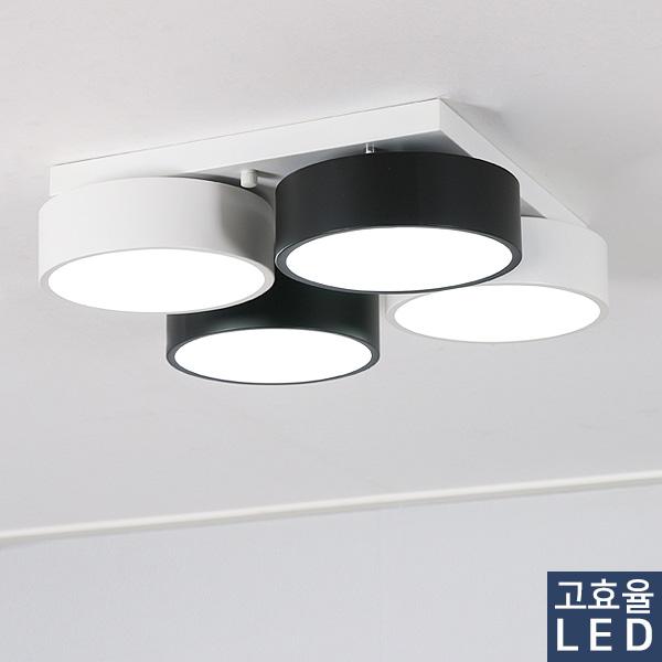 LED 포링 4등 방등 60W [품절]