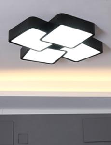 LED 마빈 방/거실등(블랙)