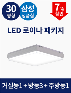 [30평형] LED 로이나 패키지