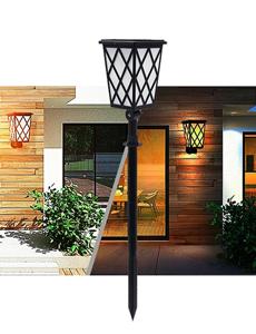 LED 태양광 그리드 정원등/데크등