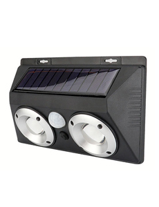 LED 태양광 멀티2구 센서 벽등 5W