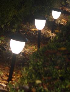 자인스 태양광 LED 잔디등(4개세트)