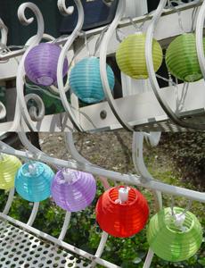 컬러볼 LED 태양광 조명
