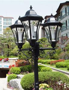 칸스 LED 태양광 정원등