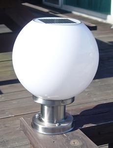 이반 LED 태양광 문주등[일시품절]