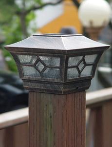마이캡 LED 태양광 문주등
