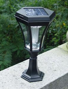 모인 LED 태양광 문주등