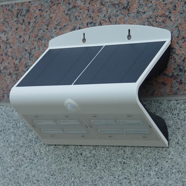 베인스 LED 태양광 센서 벽부등 6.8w