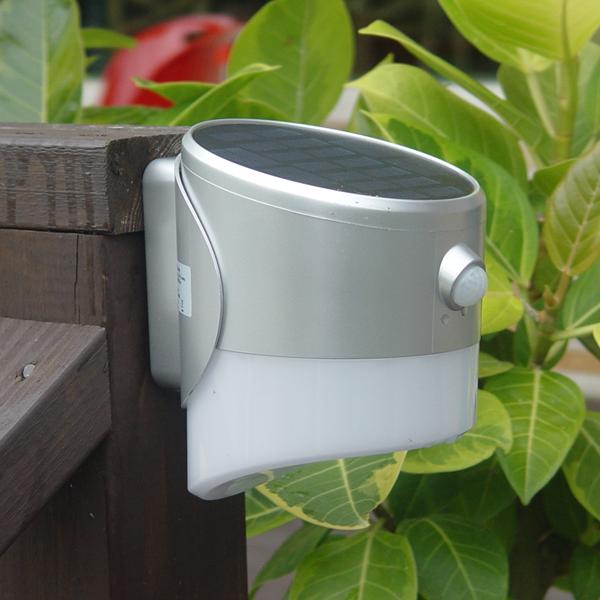 크린스 LED 태양광 센서 벽부등 2w