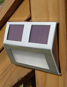 보이스 LED 태양광 벽부등