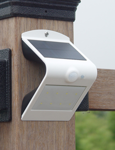 베라스 LED 태양광 센서 벽부등