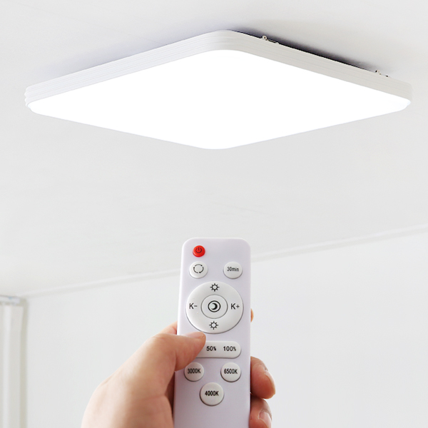 LED 리오네 리모컨 방등 50W