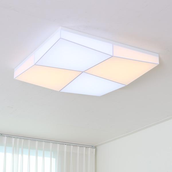 LED 크로스 퍼즐 밀크솔 거실등