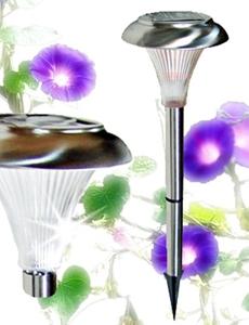 LED 태양광 나팔 정원등