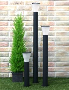 슬림 머쉬룸 1등 잔디등(블랙)