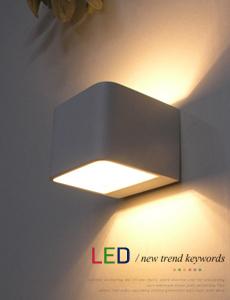 LED 사각 캐스팅 벽등 6W