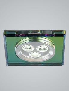 LED 라코 사각 매입등 3W