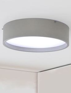LED 케인 원형 방등 50W(그레이)