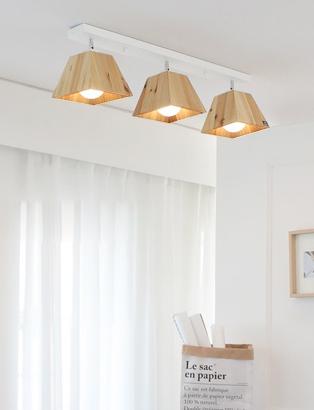 LED 트라이 3등 직부등