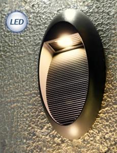 LED 타원 다크그레이 벽등