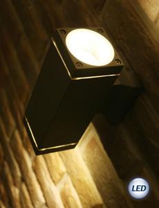 LED MR16 디스 2등 벽등(블랙/그레이)