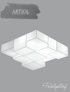 LED 스케네 밀크솔 거실등[2size]