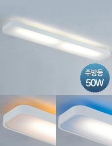 LED 로일리 주방 55W 2등