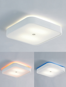 LED 로일리 2등 센서등