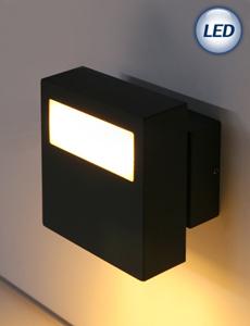 LED 월리 벽등 6W (다크그레이)